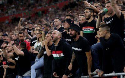 FIFA promete punir Hungria por insultos racistas na partida com Inglaterra